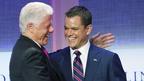 サミット開催のN.Y.で、マット・デイモンがクリントン元大統領主催の会議に登壇
