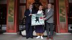 史上初! 奈良・薬師寺で映画奉納式 『春との旅』仲代達矢「60年間で初めて」