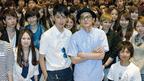 きっかけは学生からの1通の手紙…松田翔太と高良健吾が学生による試写会に登場