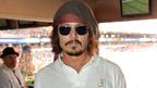 ジョニー・デップ、アイドルのコンサートにNFL観戦……マイアミで家族サービス