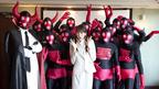 就活女子必見…? 桐谷美玲がコメディ初挑戦でコスプレ軍団に囲まれ困惑