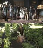 """まるで美少女と野獣!? """"ティム・バートン印""""炸裂のキャラ映像到着『ミス・ペレグリンと奇妙なこどもたち』"""