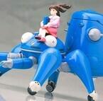 大好評につき再生産決定! ミキも乗せれる『タチコマWith草薙素子&バトー』