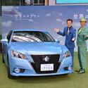 東京都・六本木でトヨタ「クラウン」空色・若草色を展示 - 新CMもオンエア