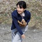 これが吉永小百合の女優魂! 20年ぶりの投球披露で約300球の投げ込み