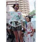 東京都・恵比寿で「こども国際ファッションショー」- プロメイクでモデルに