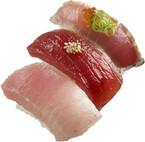 スシロー、「鮪の贅沢3貫盛り」など「まぐろ大漁夏祭」特別メニューを販売