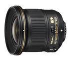 ニコン、軽量・小型の大口径レンズ「AF-S NIKKOR 20mm f/1.8G ED」を発売