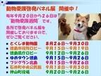 徳島県・動物愛護管理センターで「動物愛護啓発パネル展」が開催