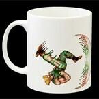 『ストII』で猛威を振るった様式美…待ちガイルVS勇者ザンギがマグカップに