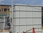 鹿島建設、水中の放射性セシウム濃度の連続モニタリング装置を開発