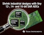 TI、産業機器の制御システムなど向け12/14/16ビットSAR型ADCを発表