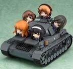 『ガルパン』IV号戦車D型が立体化!「ねんどろいどぷち」あんこうチーム搭乗可能