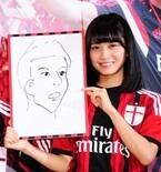 乃木坂46深川麻衣、本田圭佑選手の似顔絵を描くも「本当に