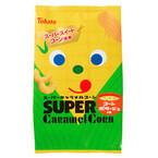 コーンポタージュ味の「スーパーキャラメルコーン」発売 - 東ハト