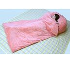 千趣会「うたた寝クッション」に寝袋付きタイプが新登場