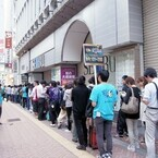 『モンスターハンター4G』狩猟解禁、早朝の渋谷に400人以上のハンターが列