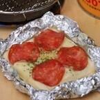 旨い山めし (5) 「ランチパック」でとろ~りチーズのピザ完成