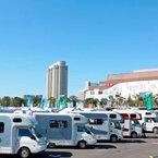 東京都「お台場キャンピングカーフェア2014」首都圏最大級の展示&商談会に