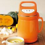 ドウシシャ、おかゆやスムージーも自動で作れるスープメーカー