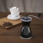 コーヒーミルで変わるコーヒーのおいしさ - 貝印、高級コーヒーミル発売