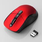 エレコム、高速/通常スクロールを切り替えられるワイヤレスマウス