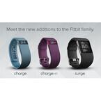 米Fitbit、最新モデル3機種を発表 - GPS搭載の「Fitbit Surge」など