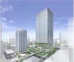 東急不動産と鹿島、東京都・竹芝地区の都市再生計画を発表