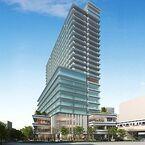 京王線笹塚駅南口の21階建て複合ビル「メルクマール京王笹塚」来春開業へ!