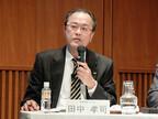 KDDIの田中社長、ドコモのセット割に静かな口調ながらも激怒