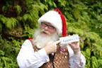 PC向けメガネ「JINS PC」、サンタ公認のクリスマスモデルを数量限定発売