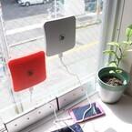 ビーズ、窓に貼り付けてソーラー充電できる「ピタッとソーラー充電器」