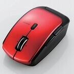 エレコム、約1年3カ月の電池寿命を持つ5ボタンBluetoothレーザーマウス