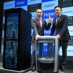 ハイアールアジア、戦略発表会を開催 - 水槽になる冷蔵庫や中が見えるスケルトン洗濯機も登場