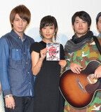 夏菜、寺島進主演『流し屋 鉄平』で歌唱に挑戦「目をつぶって見て欲しい」
