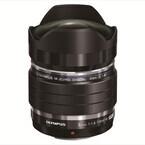 オリンパス、魚眼レンズ「M.ZUIKO DIGITAL ED 8mm F1.8 Fisheye PRO」