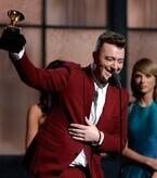 第57回グラミー賞、サム・スミスが最多4部門受賞! 豪華アーティスト競演も