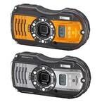 リコー、水深14mで2時間の撮影が可能な防水カメラ「RICOH WG-5 GPS」