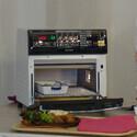 アイリスオーヤマ、火力と調理時間を自動調整する「リクック熱風オーブン」 - 作り置きのフライも