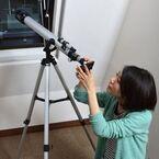 iPhoneの画面で天体観測 - サンコー「ライブビュー天体望遠鏡 for iPhone」