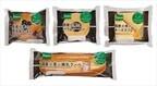 敷島製パン、国産小麦「ゆめちから」などを使用した菓子パン4種を発売