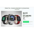 「Pebble Time」の人気、依然衰えず - Apple Watchへの寝返りもわずか