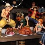 東京タワー内『ワンピース』のテーマパークお披露目! 麦わらの一味が集結