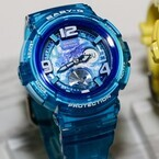 カシオ2015年春夏の時計新製品発表会「BABY-G」「SHEEN」「PHYS」編 - レディースウオッチにもGlobalモチーフ!