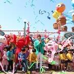 USJ、新ファミリーエリアお披露目! 2児の父・織田信成も大興奮「楽しい!」