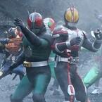 共闘するRXとファイズ!ゼロノス対ギャレン!『仮面ライダー3号』場面写公開!
