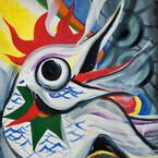 東京都・南青山で岡本太郎が描く生命のエネルギー - キュンチョメらの作品も