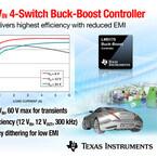 TI、産業/車載機器向け4スイッチ同期整流方式昇降圧DC/DCコントローラを発表