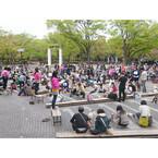 東京都・代々木公園で「ワンワンカーニバル2015」--おすわり記録への挑戦も