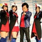 水木一郎、天国の永井一郎さんに生涯現役を誓う『ロボットガールズZ』会見